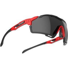 Rudy Project Cutline Gafas, negro/rojo